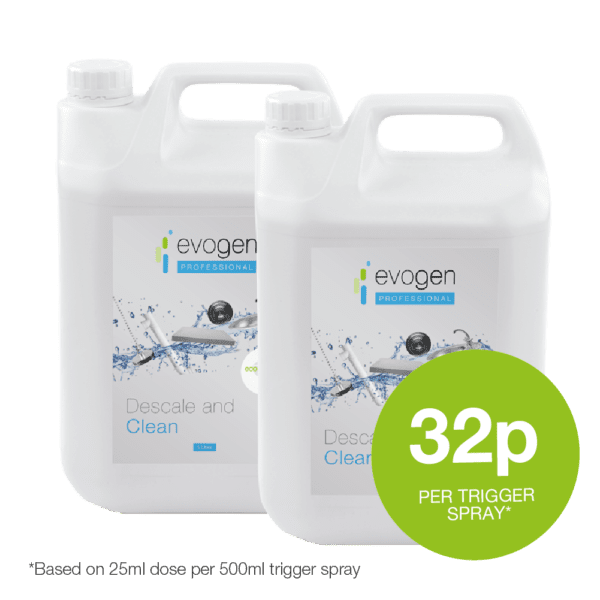 Descale and Clean - probiotic cleaning product from Evogen Professional