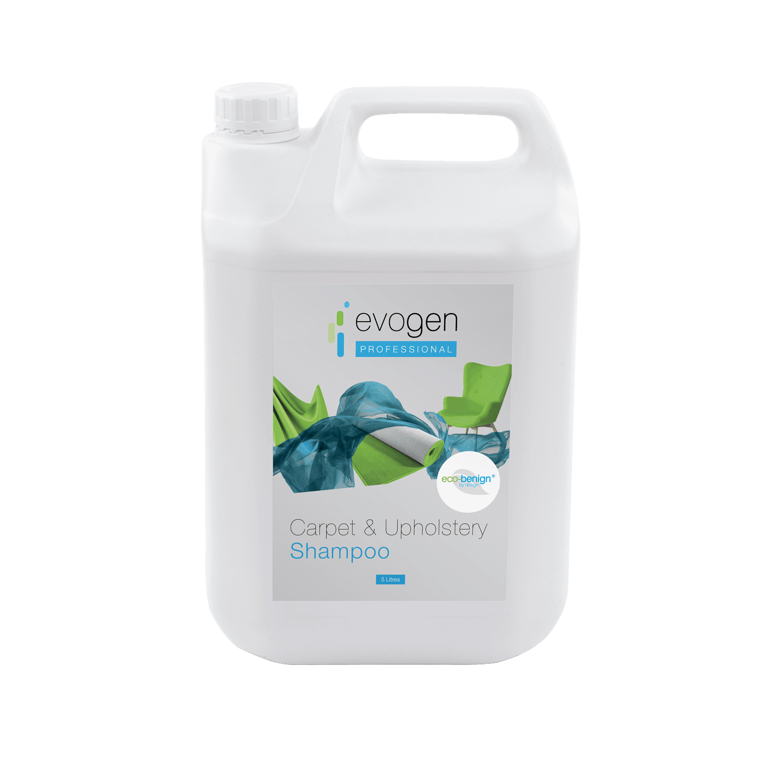 Carpet & Upholstery Shampoo - eco-friendly, professional carpet shampoo. Wholesale carpet cleaner for commercial floors.