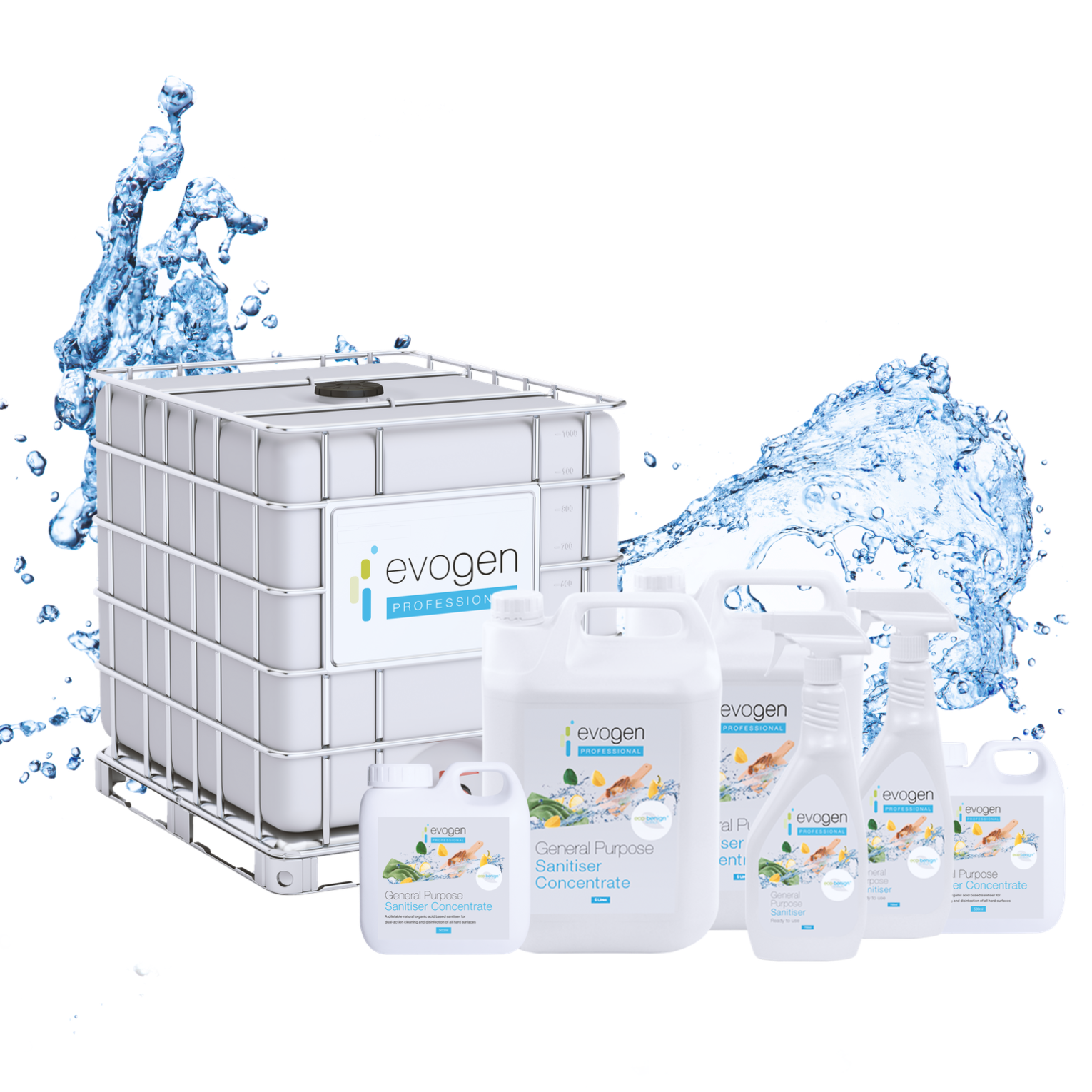 Probiotic cleaning products by evogen professional